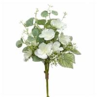 Floral Bundle (Set of 12) 14.75 H Polyester/Plastic - 1