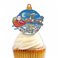 G.DeBrekht 8112160CT Up-Up & Away Cupcake & Cake Toppers - 1