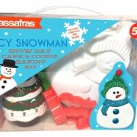 Icy Snowman Baking Kit
