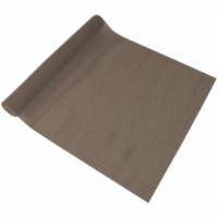 05F-C7K1B-06 Beaded Chocolate Grip Shelf Liner - 18 in. x 5 ft.