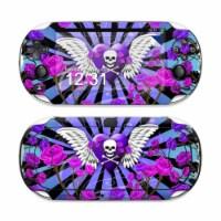 DecalGirl SPSV-SKULLROSE-PRP Sony PS Vita Skin - Skull & Roses Purple - 1