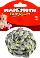 Mammoth Mini Blue Green Flossy Chew Toy