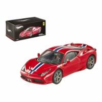 Ferrari 458 Italia Speciale Elite Edition 1/43 Diecast Car Model by Hotwheels