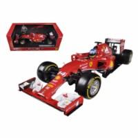 2014 Ferrari F1 F14 T Formula 1 F2014 Fernando Alonso 1/18 Diecast Car Model by Hotwheels - 1