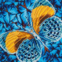 Diamond Dotz Diamond Embroidery Facet Art Kit - Flutter By Gold - 1
