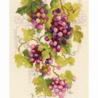 8.25 x 11.75 in. Grapevine Counted Cross Stitch Kit - 14 Count - 14