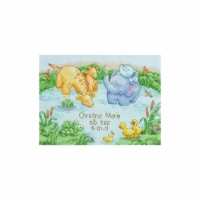 Little Pond Birth Record Counted Cross Stitch Kit-12''X9'' 14 Count - 14
