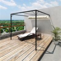Outdoor Patio Awning Sun Shade Canopy Wall Gazebo - 1