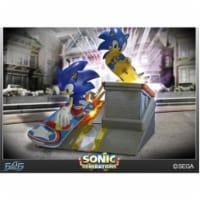 Sonic Generations Diorama Statue