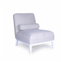 Firenze Collection Upholster Lounge chair with Pillow