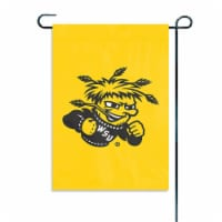 Party Animal, Inc.  Garden or Window Flag - Wichita State - 1