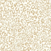 Leopard Peel & Stick Wallpaper, Gold - 1