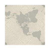 Maritime Maps Peel & Stick Wallpaper, Gray - 1