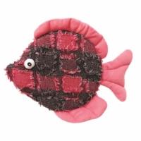 Donna Discus Plush Fish Toys, 10.5 in.