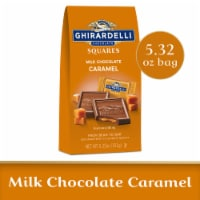 Ghirardelli Milk Chocolate with Caramel Filling Squares