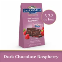 Ghirardelli Raspberry Filled Dark Chocolate Squares