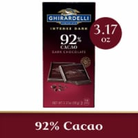 Ghirardelli Intense Dark 92% Cacao Moonlight Mystique Dark Chocolate Bar