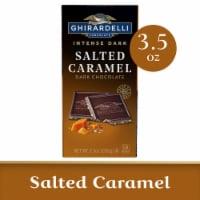 Ghirardelli Intense Dark Salted Caramel Cascade Chocolate Bar