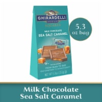 Ghirardelli Milk Chocolate Sea Salt Caramel Squares - 5.3 oz