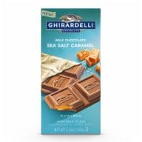 Ghirardelli Sea Salt Caramel Milk Chocolate Bar