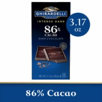 Ghirardelli Intense Dark 86% Cacao Midnight Reverie Chocolate Bar