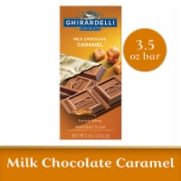 Ghirardelli Milk Chocolate with Caramel Filling Bar