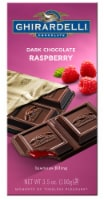 Ghirardelli Dark Chocolate Raspberry Bar