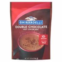 Ghirardelli Double Chocolate Premium Hot Cocoa Mix - 10.5 oz