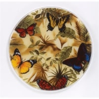 Andreas JO-23 Butterfly Round Silicone Mat Jar Opener - Pack of 3 trivets - 3