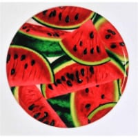 Andreas JO-242 Watermelon Round Silicone Mat Jar Opener - Pack of 3 trivets - 3