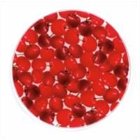Andreas JO-4 Organic Cherries Round Silicone Mat Jar Opener - Pack of 3 trivets