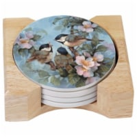 Andreas TR-254 Chickadee Silicone Trivet - Pack of 3 trivets - 3
