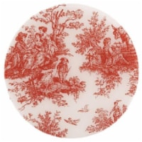 Andreas TRC-154 Toile Red Casserole Silicone Trivet - Pack of 3 trivets - 3
