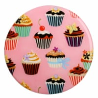 Andreas TR-101 Cupcakes Silicone Trivet - Pack of 3 - 3