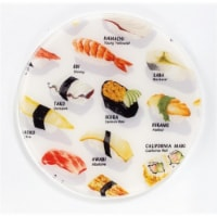 Andreas TR-128 Sushi Silicone Trivet - Pack of 3 - 3