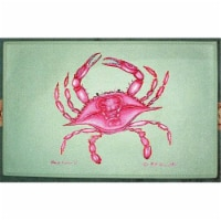 Betsy Drake DM102G Pink Crab Door Mat 30''x50''