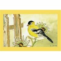 Betsy Drake DM244G Goldfinch Door Mat 30''x50''