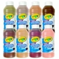 Crayola Non-Toxic Multi-Cultural Washable Tempera Paint Set - 8 Oz. Squeeze Bottle, Set 8 - 1