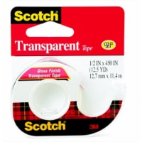 Scotch 040491 600 Multi-Purpose Photo-Safe Self-Adhesive Tape - Glossy Transparent - 1