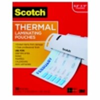 Scotch 8.9 x 11.4 in. Laminating Pouch, Pack 100 - 1