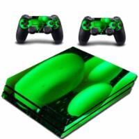 VWAQ PS4 Pro Skin Green Console Lava Lamp Sticker - PPGC10 - 1