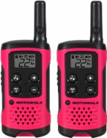 Motorola Solutions Talkabout T107 Two Way Radios - Pink/Black