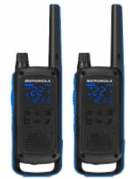 Motorola Solutions Talkabout T800 Two-Way Radios - Black/Blue