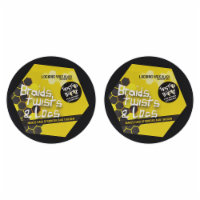 Twisted Bees Wax - Black by Ecoco for Unisex - 6.5 oz Wax - Pack of 2