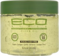 Ecos Olive Oil 10 Max Hold Styling Gel