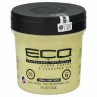 ECO Style Black Castor & Flaxseed Oil Professional Styling Gel - 16 fl oz