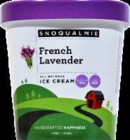 Snoqualmie French Lavender Ice Cream - 16 Fl Oz