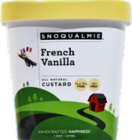Snoqualmie French Vanilla Custard - 16 fl oz