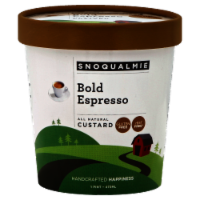 Snoqualmie Bold Espresso Custard - 1 pt