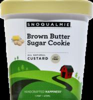 Snoqualmie Brown Butter Sugar Cookie Ice Cream - 16 Fl Oz